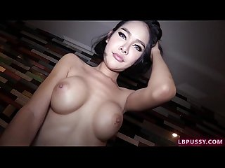 Post-Op Ladyboy Wawa Bareback and Creampie