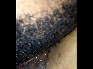 Slut likes her pussy sucked