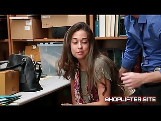 Dumb shoplifting Nymphomaniac Spy cam fucking in store backroom