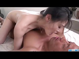 Kyoko nakajima perky tits doll fucked and made to swallow