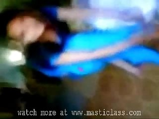 Desi queen in blue dress nude show