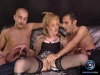 Raunchy Milf requested to screw both her craving holes