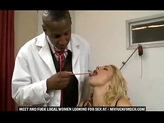 Sarah Vandella Fucks A Black Man