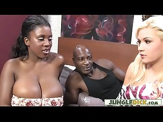Black couple invites blonde bimbo for a 3some bibi noel comma maserati Xxx