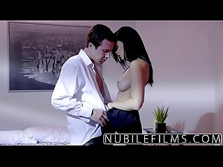 Nubilefilms ariana marie milks cum from hard cock