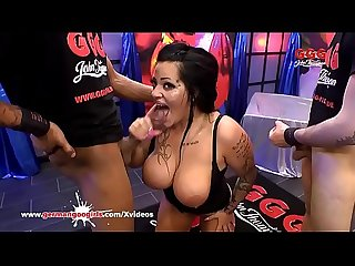 Big tits rough sex and cum german goo girls