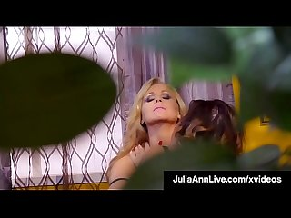 Voluptuous Vixens Julia Ann & Jessica Jaymes Lick That Pussy