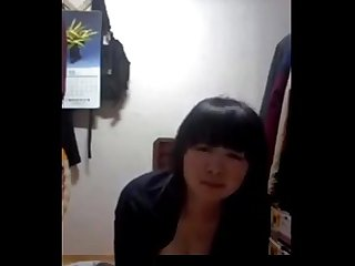 Cute Korean Girl show her hot body