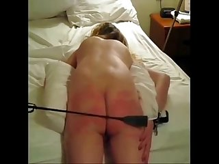 cunt spanking girl