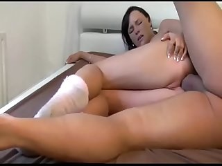 Horny german sister agreed for anal sex with her stepbrother