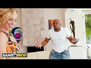 BANGBROS - PAWG Jada Stevens Wears Short Shorts To Get That Big Black Dick