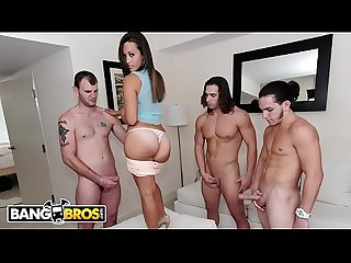 BANGBROS - PAWG Kelsi Monroe Takes Three Big Dick Like A Champ