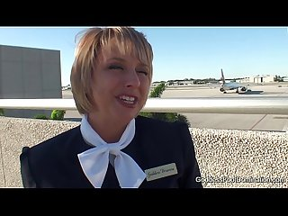 Pantyhose footjob flight attendants little black book