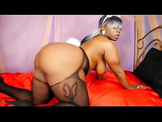 Big ass babe ebony solo strip bunny big tits solo