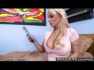Brazzers - Mommy Got Boobs - Mommy Likes Porn scene starring Holly Halston and Sonny Hicks