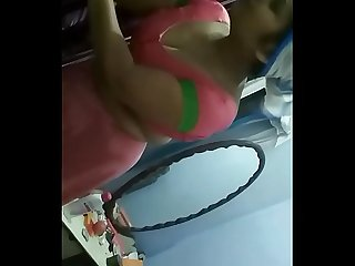 Desi indian bhabhi nude show on live cam in front of family screenrecording