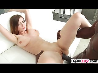 Busty stella cox takes huge black cock anal