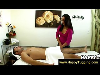 Cute asian masseuse temps me to pay