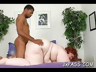 Big nice-looking woman sex
