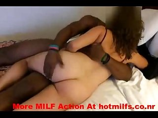 Slut milf sucking and fucking a black college guy more milf action at hotmilfs co nr