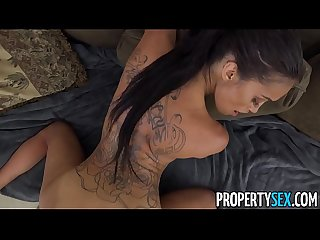 Propertysex dude fucks insane hot ass latina real estate agent