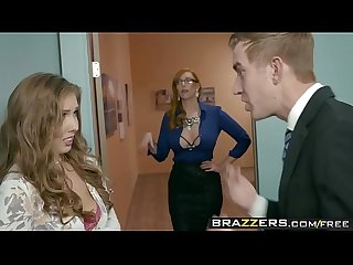 Brazzers big tits at work the new girl part 3 scene starring lauren phillips lena paul and dan