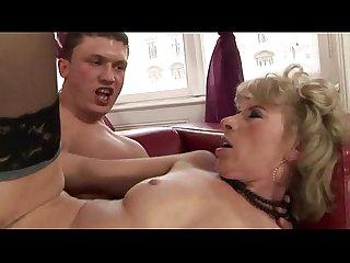 Blonde gilf mature amateur hottie fucked