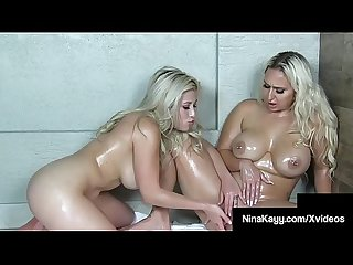 Big Ass Booty Beauties Cristi Ann & Nina Kayy Fuck In H20!