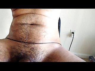 Telugu guy masturbation black uncut desi cock 2