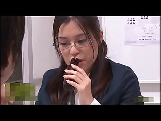 Japanese Office Lady eager to suck a cock after taking aphrodisiac FULL VIDEO ONLINE..