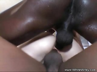 Some Interracial Anal Sex For Wifey