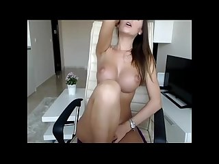 Perfect babe fucks her pussy with perfect tits on cam homeofcams com