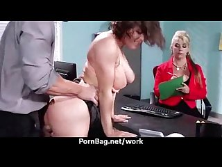 Busty boss office sex 24