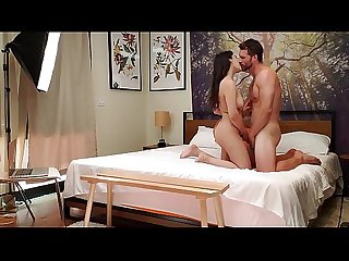 behind the scene with HOT COUPLE TOMMY WOOD and VALENTINA NAPPI