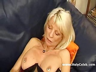 Real French Big Tits Mature hard fuck