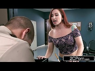 Crazy bitch sophia locke deepthroats prison guard S cock to shorten her sentence