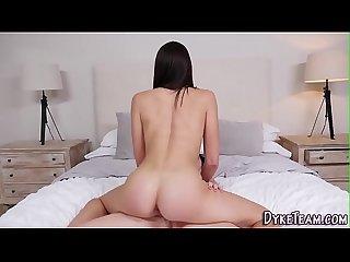 Lesbian strapon fucking