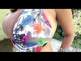 Large tit porn stars