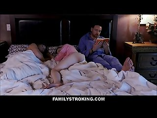 Horny Stepdad Fucks Teen Stepdaughter Lexi Lore While His Wife Is Sleeping