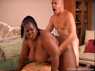 Beautiful black BBW MILF loves to fuck