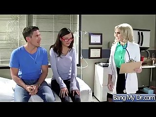 Hard sex tape with dirty doctor bang horny patient movie 15