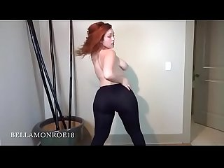 Bella chubby pawg dildo riding