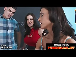 Sexy teachers KENDRA LUST and WHITNEY WESTGATE fucked by a student