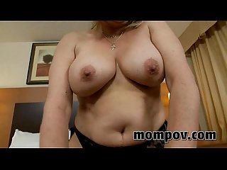 Blonde milf fucking in hotel