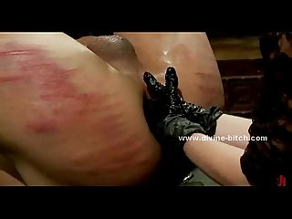 Hunk gets tied up and dominated