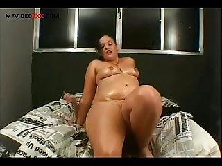 Facesitting Lesbian destroyer face fucking big butt Masturbation