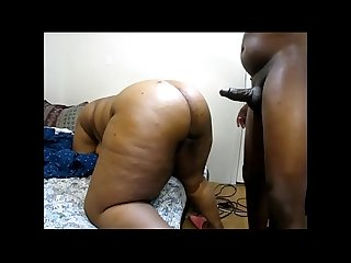 Ebony mature milf loves 2 suck fuckin until she gets a huge thick bbc load