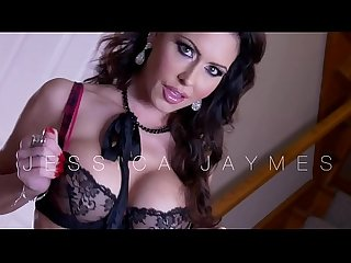 Watch jessica jaymes sucking and jerking off your big cock