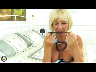 Blonde mature lady elaine