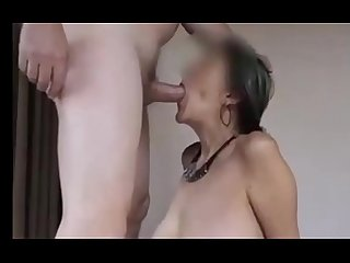 Not so young amateur couple fucks at the best porno style doggystyle facefucking deepthroat and cum